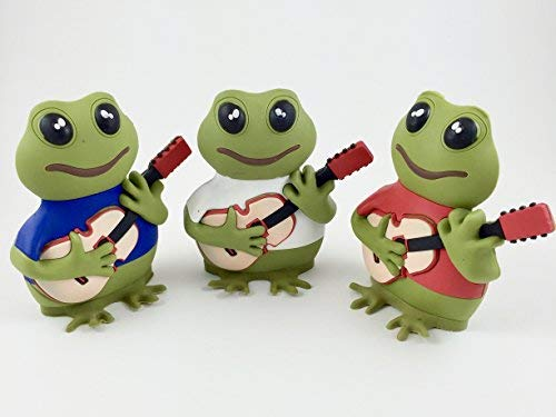 Coqui frogs figurines