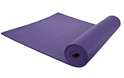 Luxurious Yoga Mat - 1/4 Inch, Eco Friendly, High Density Mat, Including Velcro Carrying Strap