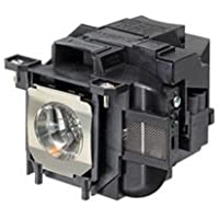 Powerlite 97 Epson Projector Lamp Replacement. Projector Lamp Assembly with Genuine Original Ushio Bulb inside.