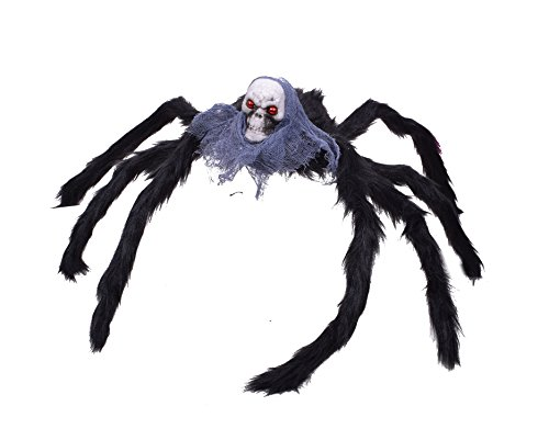 Halloween Giant Spider Spiders for Halloween Decorations Scary and Creepy (Diy Scary Halloween Costumes For Adults)