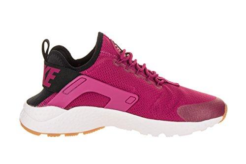 Nike Womens Air Huarache Ultra Joggesko Sport Fuchsia / Sort Gummi Gul