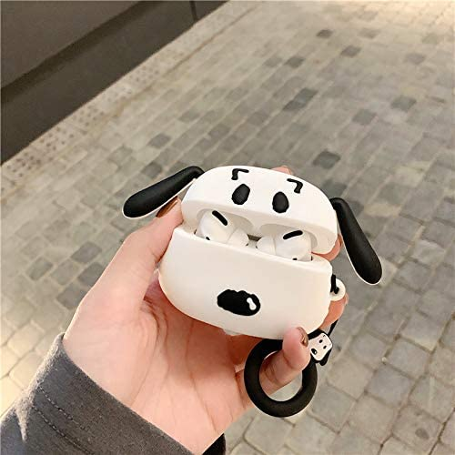 3D Cartoon Pattern Snoopy ZAHIUS Airpods Pro Silicone Case Funny Cover Compatible for Apple Airpods Pro Designed for Kids Girl and Boys