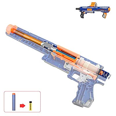WORKER Short Dart Mod Kit Set for Nerf Rampage N-Strike Elite Toy Blaster: Toys & Games