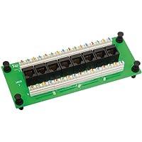 ICC Compact 8 Port CAT 6 Data Module