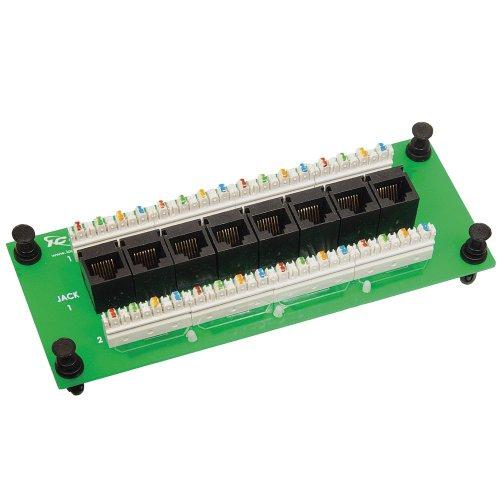 (ICC Compact 8 Port CAT 6 Data Module)