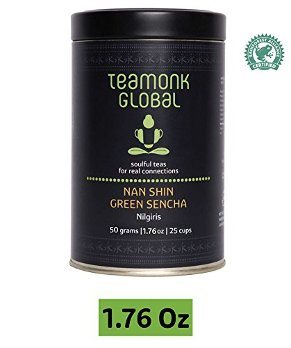 - Japanese Sencha Green Tea, 1.7oz (25 cups) | Nourishes Glow from within | 100% Natural Whole Loose Leaf Tea | No Additives