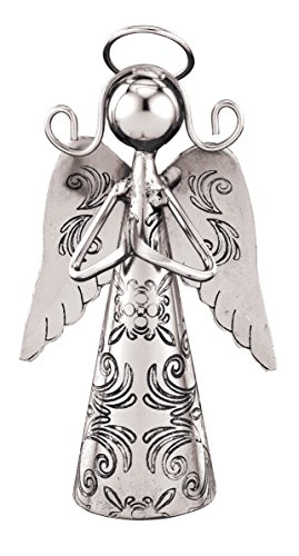 Regal Art & Gift Praying Outdoor Angel Bell, 4