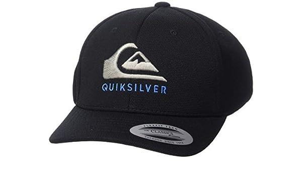 Quiksilver Smashness Gorra Ajustable para Hombre - Negro - Talla ...