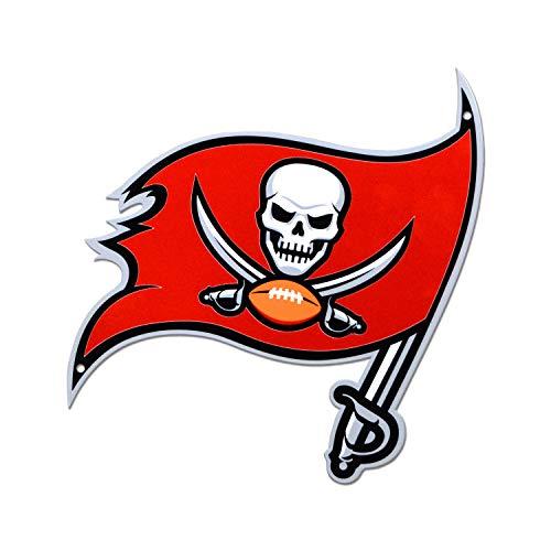 - NFL Tampa Bay Buccaneers Metal Logo Sign, 12 inch