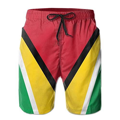 Para Blanco Ropa Cortos Sueltos De Hombre Festiva Coloridos Con Cordón Natación Playa Vintage Verano Pantalones qZwSx6q