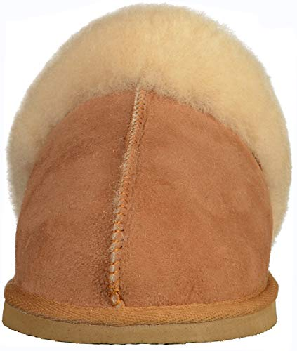 Slipper Jessica Pantofole kastanie Braun Donna Shepherd v7qw655