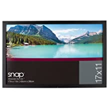 Snap 10FW1570 11-Inch-by-17-Inch Black Wood Frame