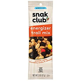 Snak Club Energizer Trail Mix, Gluten Free, 2-Ounces, 12-Pack