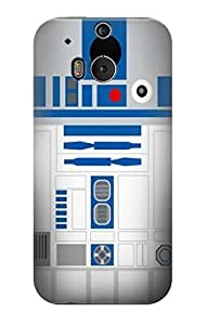 S1853 R2D2 Minimalist Case Cover For HTC ONE M8