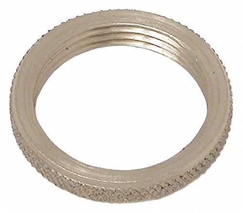 3/8''-32 Round Panel Nut, Plain Finish, Nylon, NEF Threads, PK2 - pack of 5 by Unknown