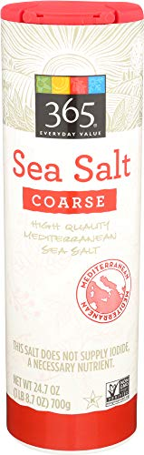 365 Everyday Value, Sea Salt Coarse, 24.7 oz
