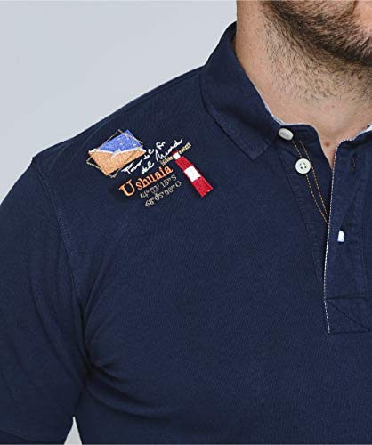 Polo Brandon Men's Navy Shirt Pique La Martina Rwqn67BtIx
