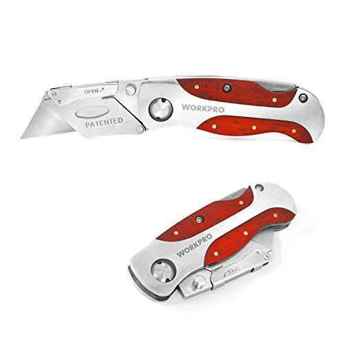 WORKPRO Quick-Change Utility Knife