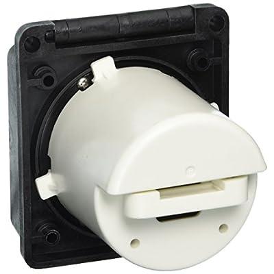 ParkPower 30ARVIB Weekender Power Inlet - 30A, Black: Automotive