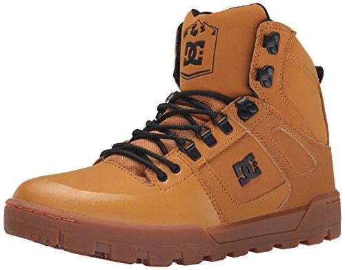 Dc Uomo Spartan Alto Wr Boot Scarpe Da Skate Wheat