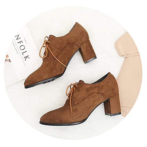 Autumn Wintern Boots High Heels Women Leather Ankle Boots Sexy Pointed Toe Martin Boots,4,8.5