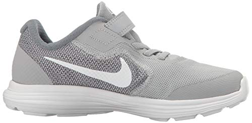 NIKE Kids' Revolution 3 (Psv) Running-Shoes, Wolf Grey/White/Cool Grey, 1.5 M US Little Kid by Nike (Image #6)