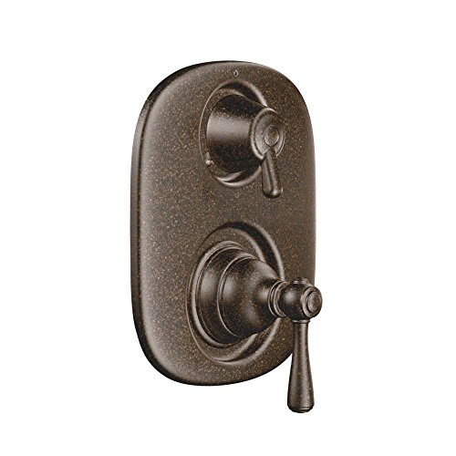 (Moen T4111ORB-3330 Kingsley Moentrol Valve Trim Kit with Lever Handle and Valve, Oil Rubbed Bronze )