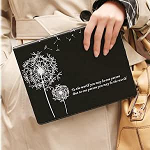 ModernGut Fashion Dandelion leather case for ipad 3 Wake Up Sleep case for ipad2 smart cover for new ipad Stand Case Magnetic Protective