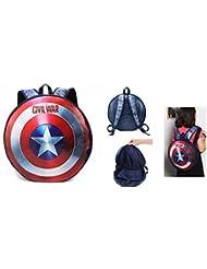 Captain America Civil War Shield 17 Backpack