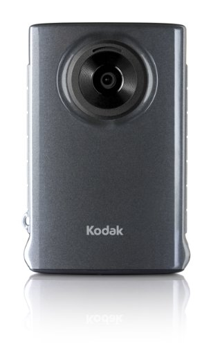 Amazon.com : Kodak Mini Video Camera with SD Card (Grey) : Flash ...