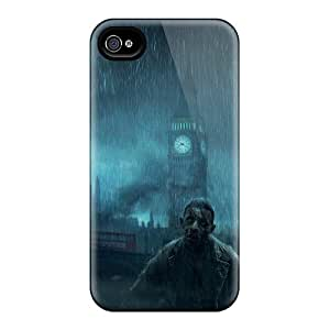 Ideal DonaldWS Case Cover For Iphone 4/4s(zombiu), Protective Stylish Case