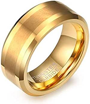 Men's Ring Made of with Seal inside Color and Gold Size 7