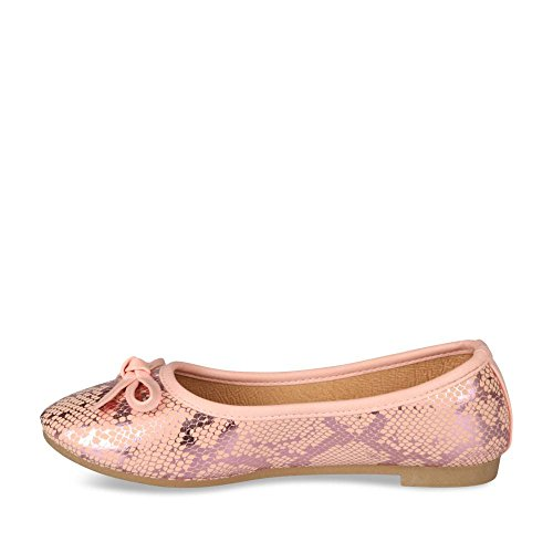 Ballerines ROSE LOVELY SKULL Enfants Chaussea