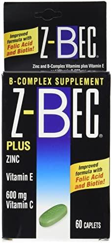 Z – Bec B-complex Supplement 60 Tablets 3 Pack