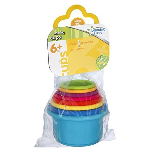 Baby Toy Stack Up Cups (Pack Of 24) by LEARNING CURVE BRAND (Image #1)