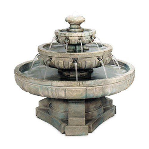 (Henri Studio 5 Piece Regal Tier Fountain, Large, Relic Barro)