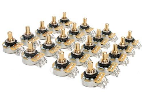 【 並行輸入品 】 20 Bulk パック Genuine CTS Tone / Volume 250K Solid Shaft Pots Fender用 (フェンダー) Tele   B00JEFBPOM