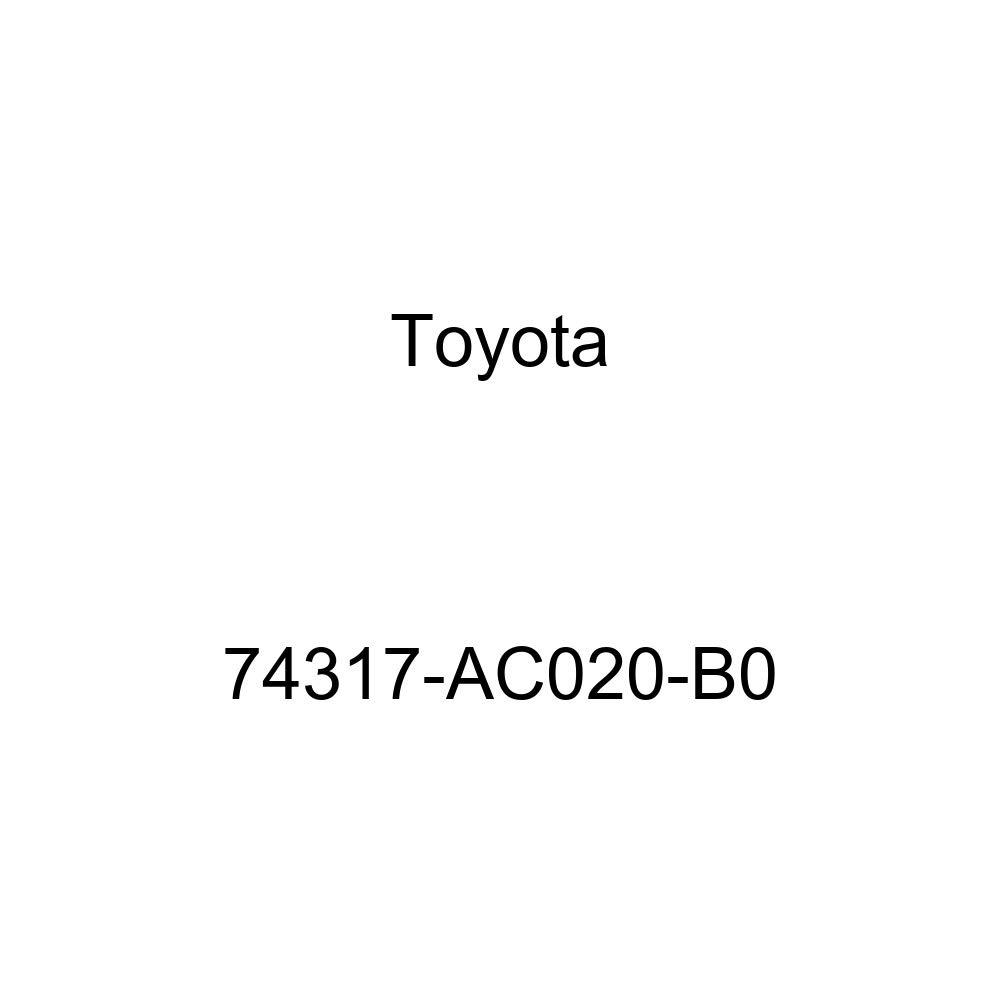 TOYOTA Genuine 74317-AC020-B0 Visor Bracket Cover