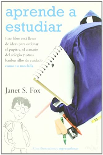 Amazon.com: Aprende a estudiar/ Get Organized Without Losing It (Spanish Edition) (9788497543521): Janet S. Fox, Nuria Marti: Books
