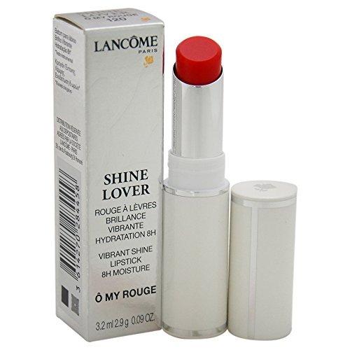 LANCOME/SHINE LOVER VIBRANT SHINE LIPSTICK(120)O MY ROUGE 0.09 OZ (3.2 ML) (Pack of 2)