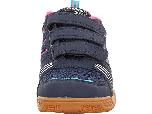 Killtec Soccer Jr - Zapatillas Unisex Niños Blau (navy/ Neon Pink)