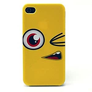 GJY Interesting Pattern PC Hard Case for iPhone 4/4S