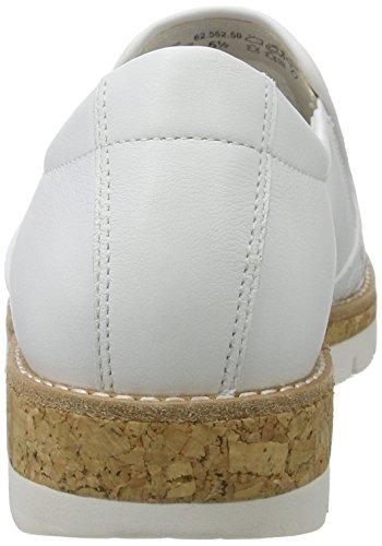 Donna Bianco Gabor Senza Lacci Shoes Scarpe 552 Weiss Kork 62 rrwx0