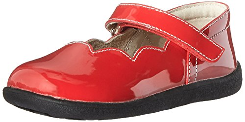 See Kai Run Savannah Mary Jane (Infant/Toddler/Little Kid/Big Kid), Red Patent,5 M US Toddler