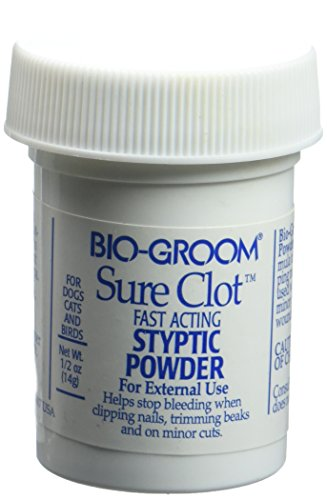 Bio-Groom DBB53005 Sure Clot Syptic Powder, 14gm