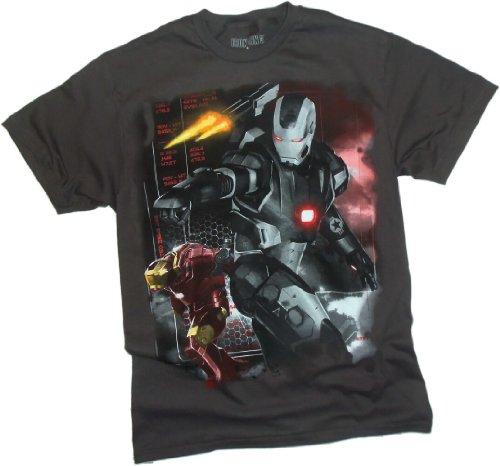 Machine Wars -- Iron Man 3 Movie T-Shirt, Medium