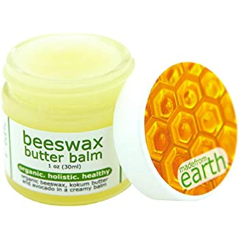 Made from Earth Beeswax Butter Balm - Organic, Holistic and Healthy