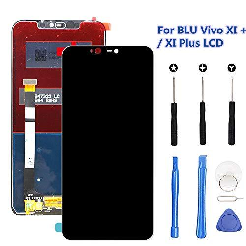 Display Replacement Kit - for BLU Vivo XI Plus LCD Screen Replacement Kit (Black), Original 6.2