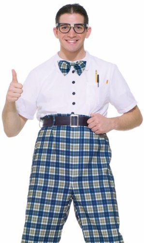 Adult Class Nerd Costume Size: Adult Standard Size