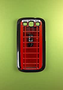 Samsung Galaxy S3 Case - London Telephone Booth Samsung Galaxy S3 Cover, Very Cool wangjiang maoyi